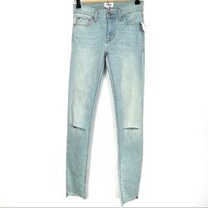 HUDSON Krista Ankle Super Skinny In Love Jeans 24